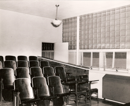 Inside classroom where we had Physics, MC club and can anyone remember any other classes in here?  Photo provided by the